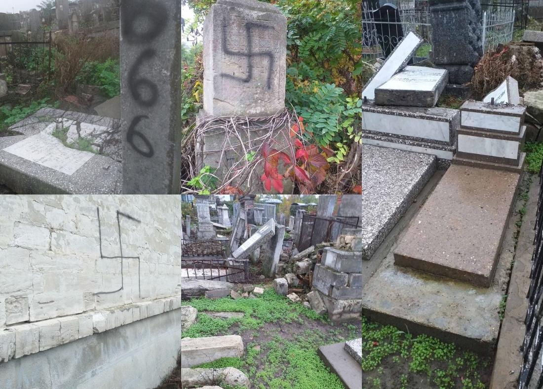 ЕАЕК осуждает акты вандализма на еврейском кладбище Кишинёва –  Евро-Азиатский Еврейский Конгресс